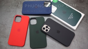 Ốp lưng iPhone 12 ProMax - Kiểu 1:1 Apple (hàng F1)